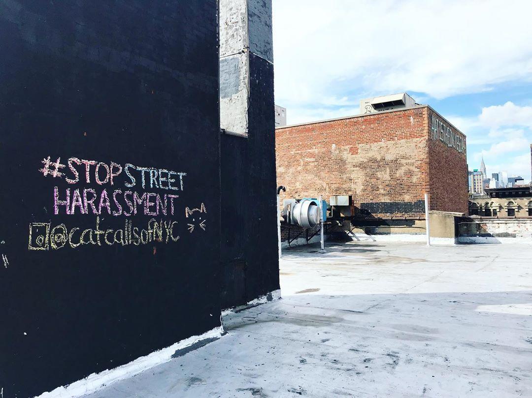 Catcalls of NYC street art