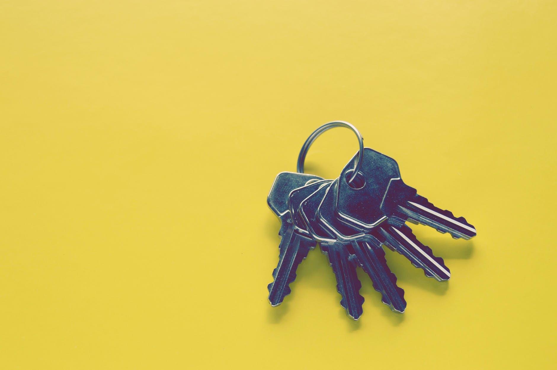 A keychain
