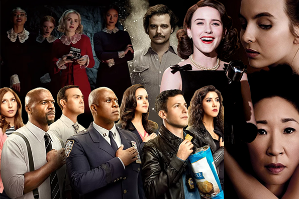Collage of TV shows